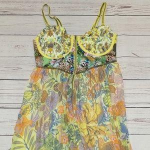 Maaji Honey Pot cover up maxi dress L
